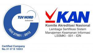 logo ISO 27001 dan KAN (2)